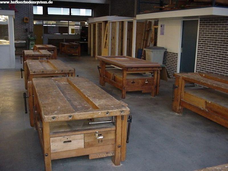 werkstattboden bofloor. Black Bedroom Furniture Sets. Home Design Ideas